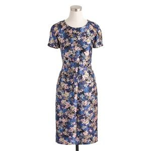 J. Crew Collection Nightgarden Floral Dress